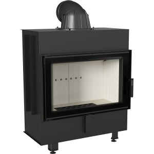 LUCY 14 BS - (14kW) , Traditioneller Kamineinsatz , Warmluft, Heizeinsatz