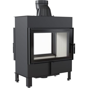 LUCY 14 T  -  (14kW)  TUNNEL - Warmluft Traditioneller Kamineinsatz