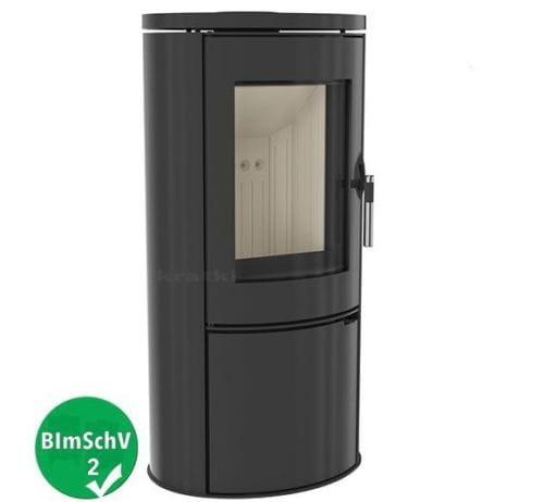 freistehenden kaminofen koza ab 8kw gusseisen und stahl. Black Bedroom Furniture Sets. Home Design Ideas